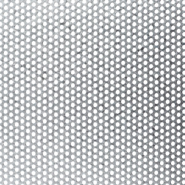 R03230 Perforated Metal Sheet: 3.2mm Round, 30% Open Area - 3