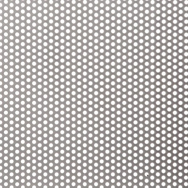R03230 Perforated Metal Sheet: 3.2mm Round, 30% Open Area