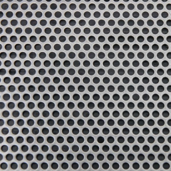 R03240 Perforated Metal Sheet: 3.2mm Round, 40% Open Area - 1