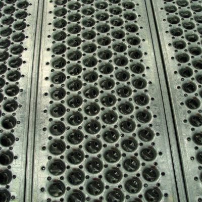 Gripspan Shur-Grip Walkway Plank: 2mm Galvanised Steel