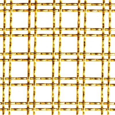 Brass Antiquita 11 Woven wire Mesh